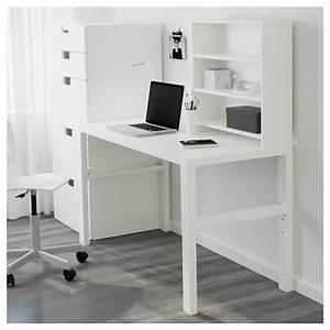 Ikea Höhenverstellbarer Schreibtisch : p hl schreibtisch mit aufsatz wei ikea ~ A.2002-acura-tl-radio.info Haus und Dekorationen