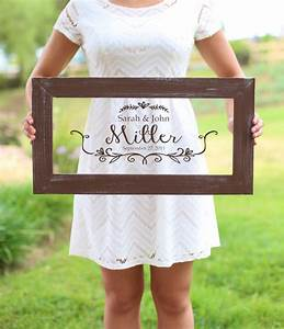 personalized calligraphy wedding sign bridal shower gift With personal wedding shower gift ideas