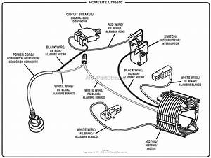Homelite Electric Cultivator Ut46510 Parts Diagram For