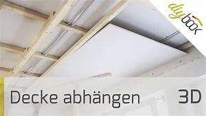Rigipsdecke Unterkonstruktion Holz : decke abh ngen 3d youtube ~ Frokenaadalensverden.com Haus und Dekorationen