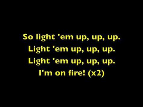 Light Em Up Fall Out Boy Lyrics light em up fall out boy lyrics