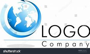 Logo World Stock Vector Illustration 10678417 : Shutterstock