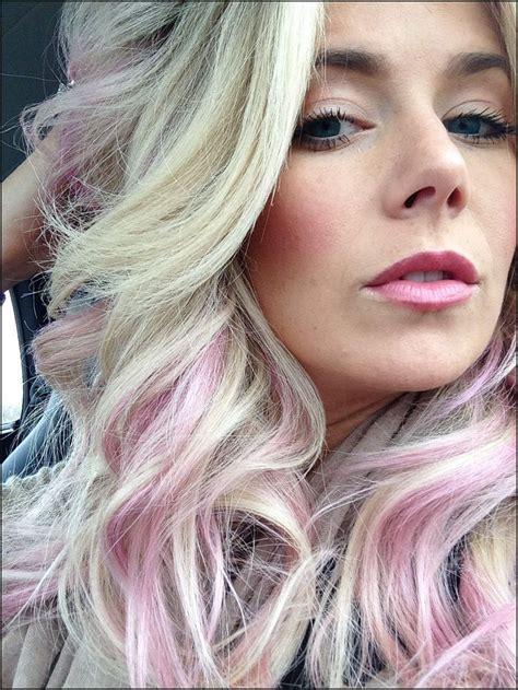 haare pastell rosa frisuren mit pastell rosa haare einfache frisuren
