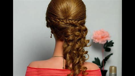 curly     hair tutorial hairstyle