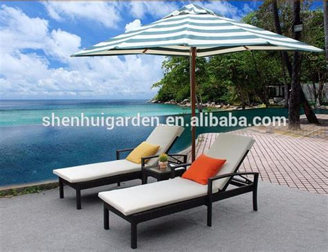 factory direct selling outdoor pe rattan weaving lounge