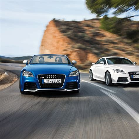 Audi Tt Rs Coupe Blue White