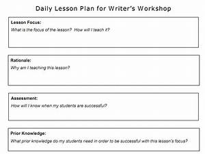 optimus 5 search image writer39s workshop lesson plan With writers workshop lesson plan template