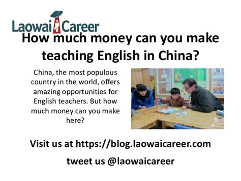how much money can i make teaching in china