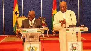 Ghana  Burkina Faso To Deepen Ties