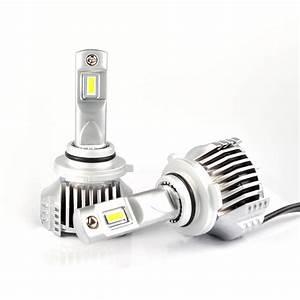 2x 9005 Led Car Headlight Kit Hb3 H10 Bulbs 14400lm 80w