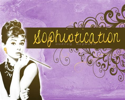 And Sophistication by Hepburn Sophistication By Awrighton On Deviantart