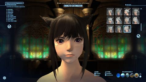 idea   nicer miqote haircut side view  comments