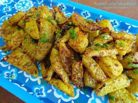 Cut the daikon into sticks. Roasted Curry Daikon Radish Recipe | Just A Pinch Recipes
