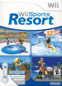 Wii Sports Resort (2009) Wii box cover art - MobyGames
