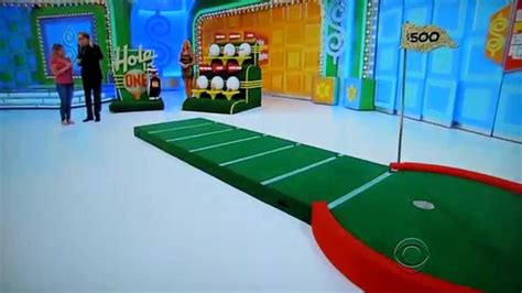 The Price Is Right  Hole In One  582014 Youtube