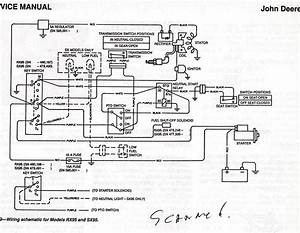 Wiring Diagram For John Deere L120 Lawn Tractor