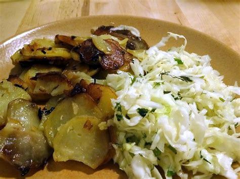 cuisine moldave salade de chou et pomme de terre sautées une moldave en