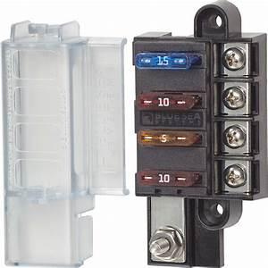 4 Circuit Fuse Block