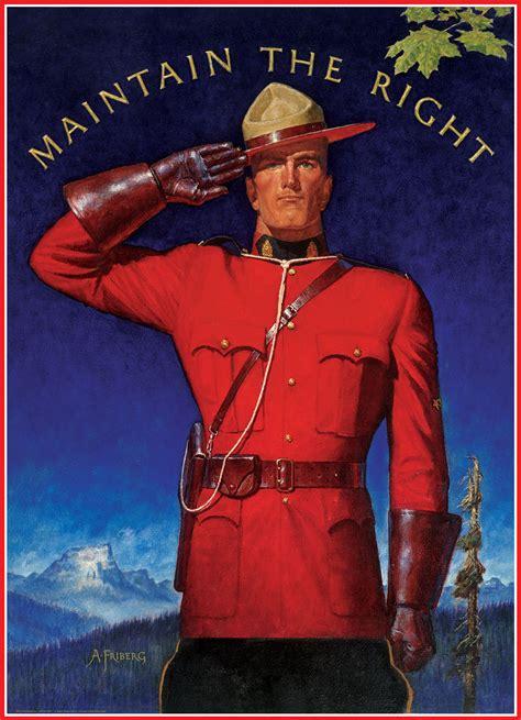 royal canadian mounted police maintain   jigsaw