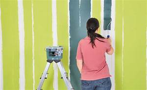 Bohrlöcher Schließen Ohne Streichen : streichen farbe in streifen maltechniken bild 3 ~ Orissabook.com Haus und Dekorationen