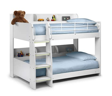 David Bunk Bed 05 White Bunk Beds For Girls White Bunk