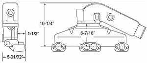 Manifold Exhaust Kit For Indmar Gm 305 5 0l 350 5 7l V8 3