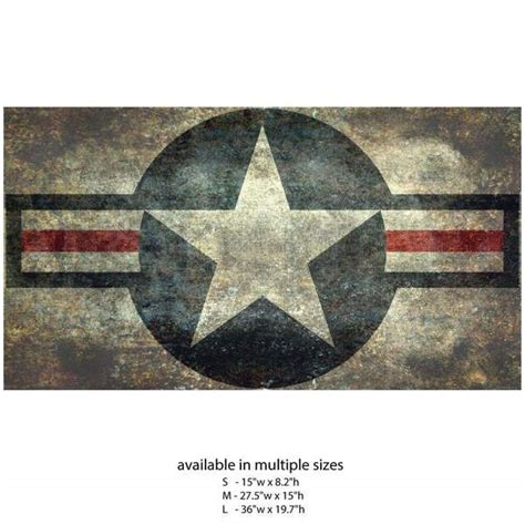 air force roundel star wall decal flag  bruce stanfield