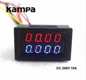 China Digital Dc Voltmeter Ammeter 0