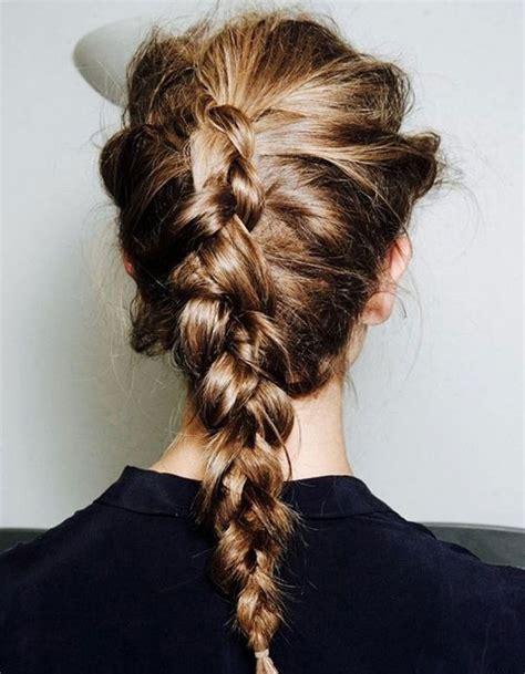 attache tresse coiffure en image
