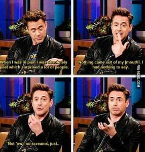 When he broke his ankle during filming Ironman3 | Robert ...