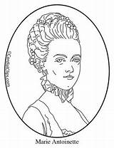 Antoinette Marie Coloring Clip Poster Mini Cordial Clips sketch template