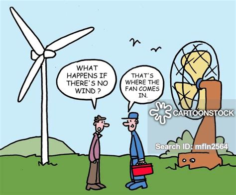 wind energy cartoons  comics funny pictures