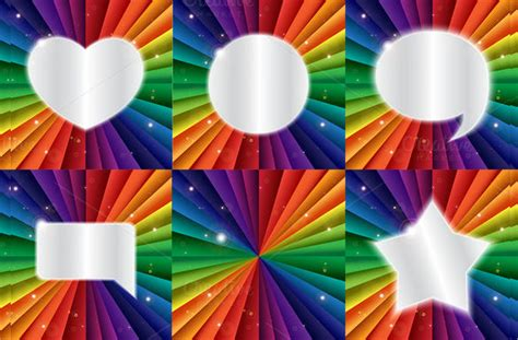 sample rainbow template  documents   psd