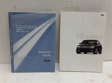 ford    owners manual  ford nonfiction