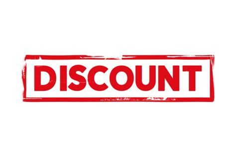 Discount stamp PSD - PSDstamps