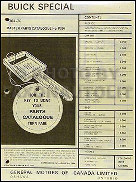 Buick Wiring Diagram Manual Reprint Special Gran
