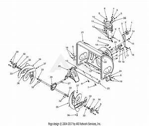 Mtd 31ae6a4e129  2000  Parts Diagram For Blower Housing