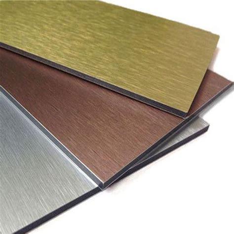 brushed aluminium composite panel aludream
