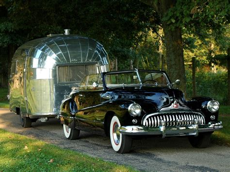 Classic Car Wallpaper Set As Background Chrome by Cars Retro Buick Trailer Convertible Airstream