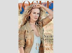 Well Played Cover Nicole Kidman on Vogue Australia