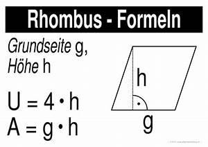 W Berechnen : mathematik geometrie lernplakate wissensposter rhombus formeln 8500 bungen ~ Themetempest.com Abrechnung