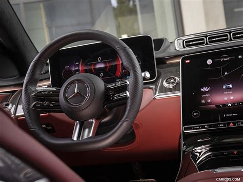 Legendary and traditional engineering expertise defines the luxury segment in the automobile industry. 2021 Mercedes-Benz S 500 4MATIC AMG line - Interior | Wallpaper #258 | 1600x1200