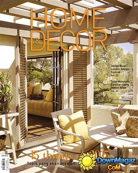 Home & Decor Indonesia  January 2015 » Download Pdf