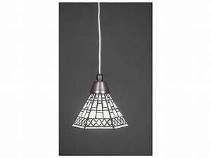 Toltec lighting cord brushed nickel pewter tiffany glass