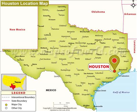 houston  texas map business ideas