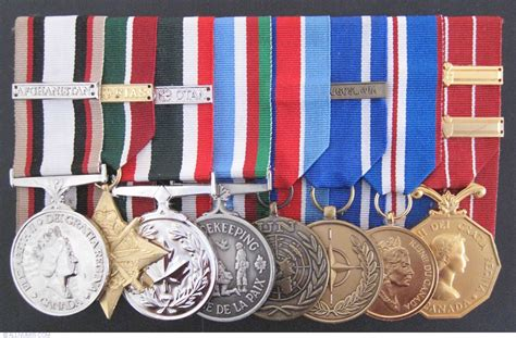 medal of set of canadian awarded medals from canada id 11108