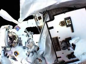 Astronauts make hasty spacewalk to make repairs - NY Daily ...
