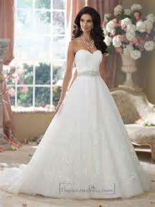 strapless sweetheart wedding dress strapless sweetheart embroidered lace appliques gown wedding dresses 2198563 weddbook