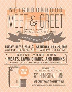 Signatures by Sarah: { MEET N GREET PARTY } invitation and ...
