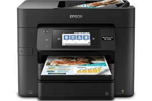 The way to check if printer is connected to computer or not. Epson WF-4730 Driver, Wifi Setup, Manual, App & Scanner ...